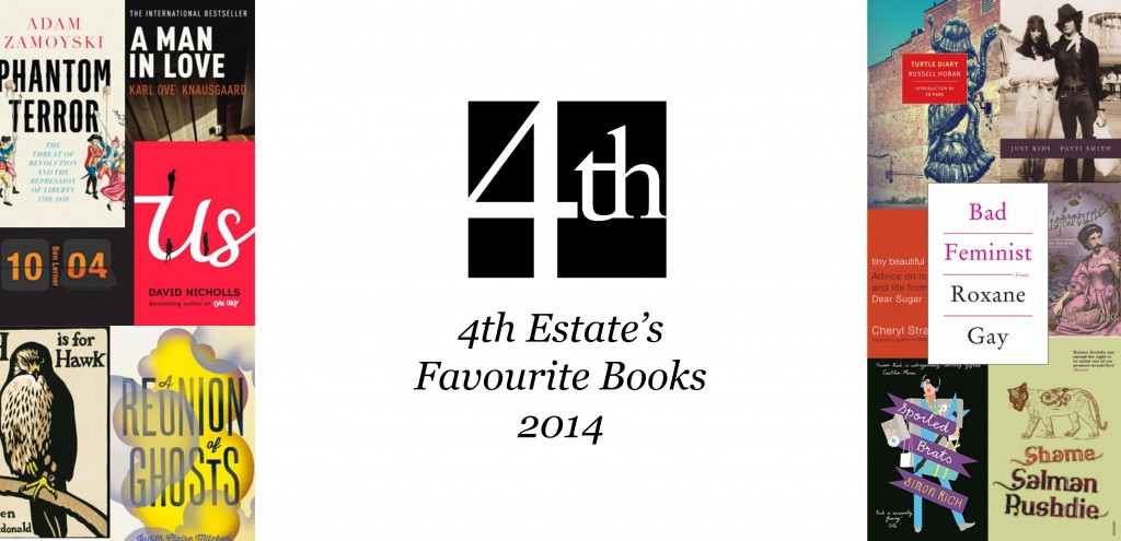 4th estate's favourite books of 2014 banner