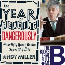 The books that built me: Andy Miller joins Harper's Bazaar