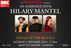 The New Statesman presents: an audience with Hilary Mantel